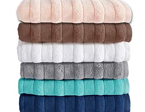 MODHAUS Handtuch 16021 100% Baumwolle 50x90 cm oder 70x140 cm (50x90, weiß)