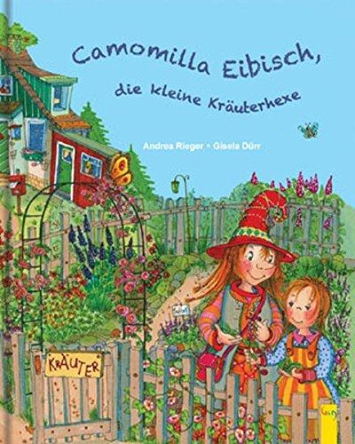 Camomilla Eibisch, die kleine Kräuterhexe - Kamille Salbei