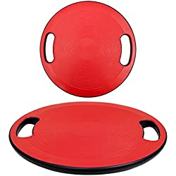 Eyepower Plataforma de Equilibrio 40cm Ejercicios aeróbicos de balanceo Rojo