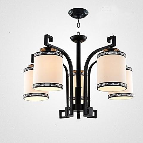 N.DFB Nuovo salotto cinese lampadario lampada minimalista lampadari di ferro