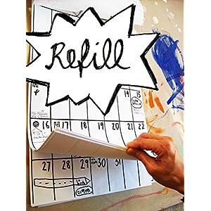 Kalender REFILL pack (18 Monate Laufzeit)