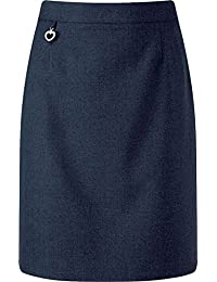 "Color:Grey 28/"" Waist 19.5/"" Length Direct Uniforms School Uniform Tube Skirts 6-16Yrs st40 Size: 14-15Yrs"