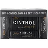Cinthol Confidence Soap, 100g (Buy 4 Get 1 Free)