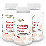 3er Pack Vita World Cranberry 400mg + Vitamin C 540 Kapseln Apotheken Herstellung