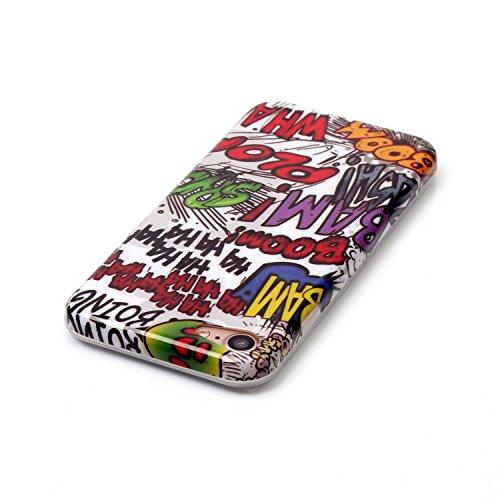 Meet de Slim de Protection Téléphone Case pour Apple iphone 7, Apple iphone 7 Bumper Case Coque,Apple iphone 7 Slim TPU Transparent Silicone Housse Etui pour Apple iphone 7 - X K
