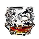 Bicchieri per bere Bicchieri di cristallo senza piombo Bicchieri per vino di vetro Whisky, 320ml#10