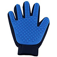 Pet Brush Glove Grooming Glove Dogs and Cats With Long and Short Fur Pet Hair Remover