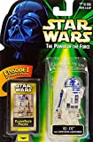 R2-D2 Droid with Launching Lightsaber & Flashback Photo - Star Wars Power of the Force Collection Hasbro / Kenner