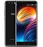 Blackview P6000 - 5.5 pouces FHD écran Android 7.0 4G smartphone, MTK6757CD Octa Core 2.6GHz 6Go + 64Go, mince avec batterie 6180mAh Charge rapide, Reconnaissance faciale, Noir