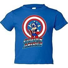 Camiseta niño Captain America