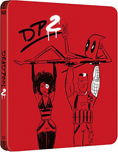 Deadpool 2 Blu-Ray Steelb