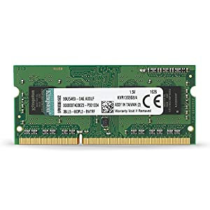 Kingston Technology KVR13S9S8/4 4 GB 1333 MHz DDR3 Non-ECC CL9 204-Pin SO-DIMM Value RAM Memory, 1.5 V