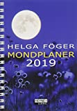 Mondplaner 2019: Taschenkalender - Helga Föger