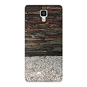 buy popular 2f5be 02aad Pebbles & Wood Back Case Cover for Xiaomi Mi4: Amazon.in: Electronics