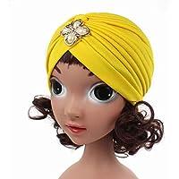 LUFA India chicas sombrero del turbante del casquillo de la gorrita tejida Caps cubierta de la cabeza niños de los niños de la bóveda de camionero