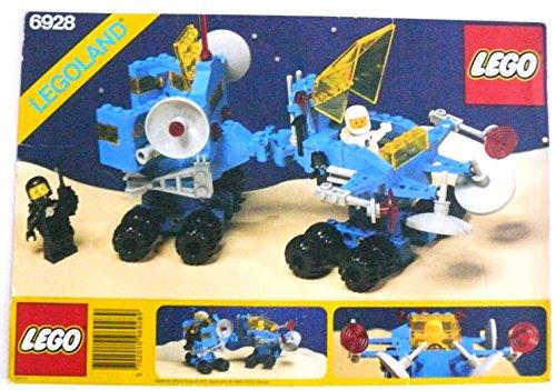 Preisvergleich Produktbild LEGO ® LEGOLAND - Beschreibung - Instruction - Bauanleitung - -Space Classic- Uranium Search Vehicle - 6928