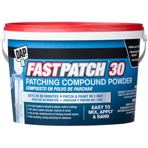 DAP 209735 Fast Patch 30 Powder 3 5 Lbs Raw Building Material, White