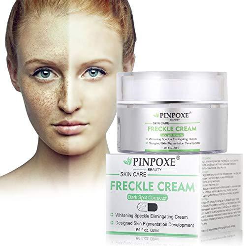 Frecken Creme, Whitening Cream, Anti Blemish, Sommersprossen Creme, Gesicht Creme Gegen Altersflecken/Dunkle Flecken, Vitamin C, 30ml -