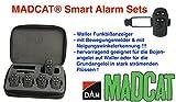 DAM MADCAT® Smart Alarm Sets (Funkbißanzeiger Zum Wallerangeln), Ausführung:2er Set (2 + 1) (3er Set (3 + 1))