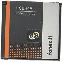Fonex hcb449batería li-ion High Capacity 1100mAh para Nokia 9300/N73