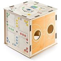 Preisvergleich für DONKEY Products - Kids Qube | Schöne Holz-Spielzeug-Kiste - Multifunktionales Kinderspielzeug & Kinderzimmer Möbel