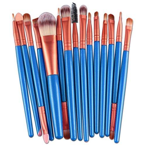 Fulltime®1PCS Maquillage bambou poignée Double Sourcils Brosse + peigne sourcils