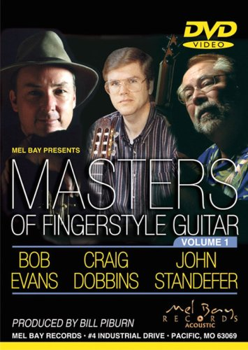 MASTERS OF FINGERSTYLE GUITAR REINO UNIDO DVD