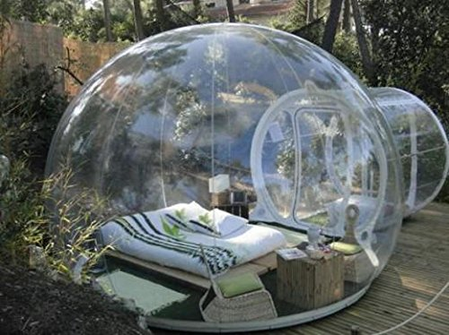 RISHENG Windundurchlässiges transparentes pvc zelte/Aufblasbare Bubble Zelt...