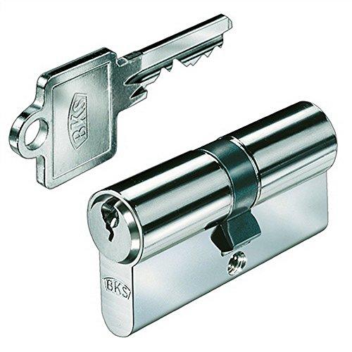BKS Profilzylinder, eins. GF, BL 27/35 mm mit 3 Schlüsseln, 88020003