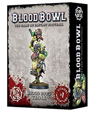 Games Workshop Jeux Atelier 99120999002 Blood Bowl Troll Figure