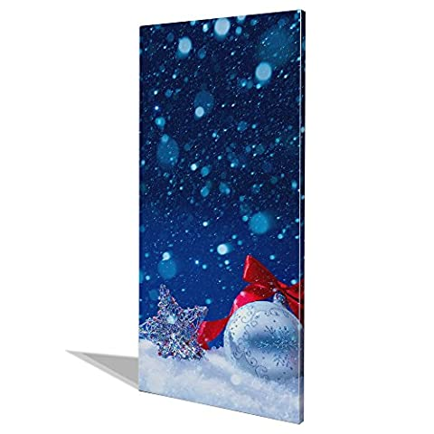 banjado - Design Magnet Board bulletin board 78x37xm pinboard noticeboard motive Silence Of Night