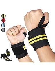 KUNFO Coloré Sports Basket-ball Football Absorbant Wristband Party Activité de plein air(Y compris 2 paires option avec prix discount!)
