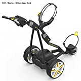 PowaKaddy FW5 2016 Electric Golf Trolley Classic Black – Standard Battery (18 Hole)