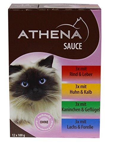 katzeninfo24.de Athena – Premium Katzenfutter – 12 x 100 GR