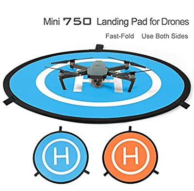 GDD2018 RC 75cm Drone launch pad Quadcopter Helicopter Mini landing pad helipad Dronepad DJI Mavic phantom 2 3 4 inspire 1 protective Accessories from Gdd2018