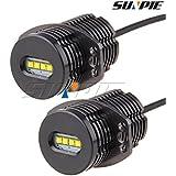 Sunpie easy_install Angel eyes 6000K blanco estupendo LED de color 40w E90 LED Luz de LED del bulbo de la lámpara Light Kit Car DC12-24V