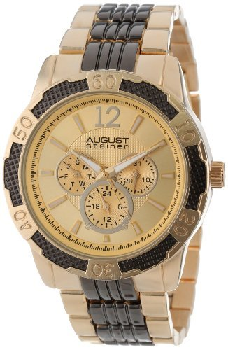 August Steiner Homme As8058ttg à Quartz Multifonction Sport Bracelet de Montre par August Steiner