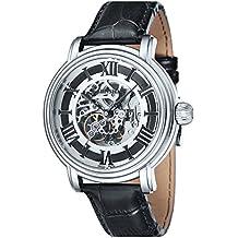 Thomas Earnshaw Longcase - Reloj para hombre, color blanco / negro