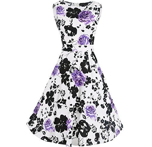 Jollychic - Robe - Plissée - Femme Violet