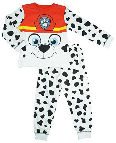Jungen Offiziell Paw Patrol Marshall kleiner Hund NEUHEIT Pyjama Größen von 18 Monate bis 6 Jahre - Mehrfarbig, 2-3 (Kostüm Der Kind Baumeister Bob)
