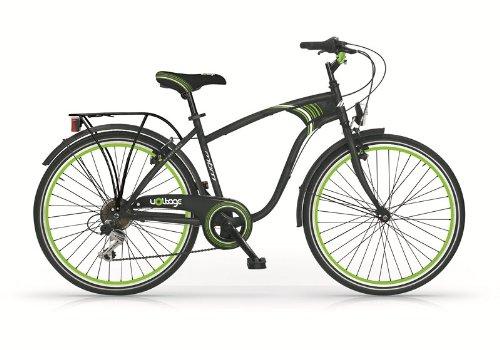 Bicicletta-ragazzo-Voltage-Trekking-24-6V-verde-nera-MBM