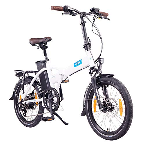 "NCM London 20"" E-Bike, E-Faltrad, 36V 15Ah 540Wh Weiß"