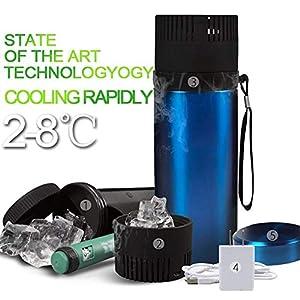 CMCC Tragbarer Insulin-Kühlvorrichtung-Drogen-Gekühlter Cup Mit Auto-Getränkehalter-Beweglichem Kleinem Kühlschrank Halten Kalte 72 Stunden Für Diabetische Gesundheitswesen Usb-Gebühr