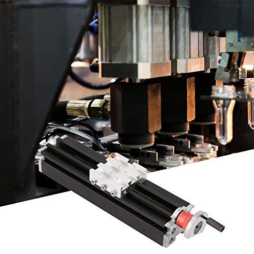 Metallkreuzschlitten,Metal Cross Slide Maximaler Hub 200mm Metallkreuzschlitten Z010M Horizontalgleiter aus Drehmetall Für Drehachse X/Y/Z,9,1 * 2,0 * 2,0 Zoll,sehr haltbar -