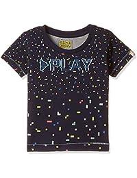 Gini & Jony Boys' T-Shirt (121246515484 C656_NAVY(C656)_2)