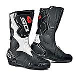 SIDI Fusion Stivali da Moto, Bianco/Nero, 44