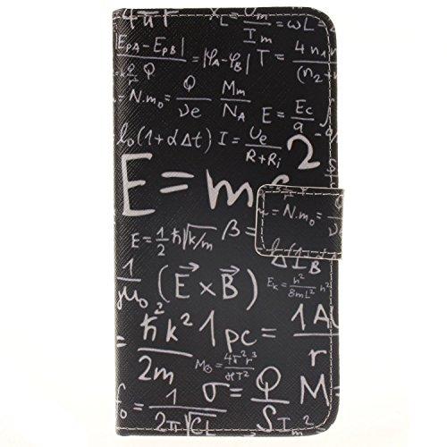 Preisvergleich Produktbild Ultra Galaxy A5 (2016) A510F PU Wallet Case Schutz Hülle für Samsung Galaxy A5 (2016) A510F - Cover Flip Tasche mit Kartenfach in Buch Stil mit Kartenfach Standfunktion Magnetverschluss und Hand Wrist + Staubstecker (10)