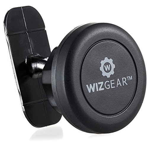 wizgear-universal-stick-on-dashboard-magnetic-car-mount-holder-for-cell-phones-and-mini-tablets-with