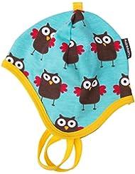 Maxomorra Baby Mütze zum Schnüren Gr. 40/42 Modell Owl