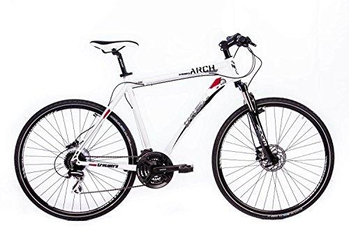 tretwerk DIREKT gute Räder Arch 2.0 28 Zoll Crossbike, Herren-Fahrrad 24 Gang Kettenschaltung